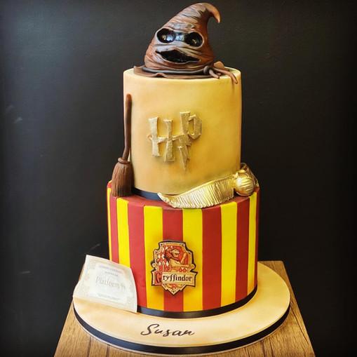 2 Tier Harry Potter Birthday Cake