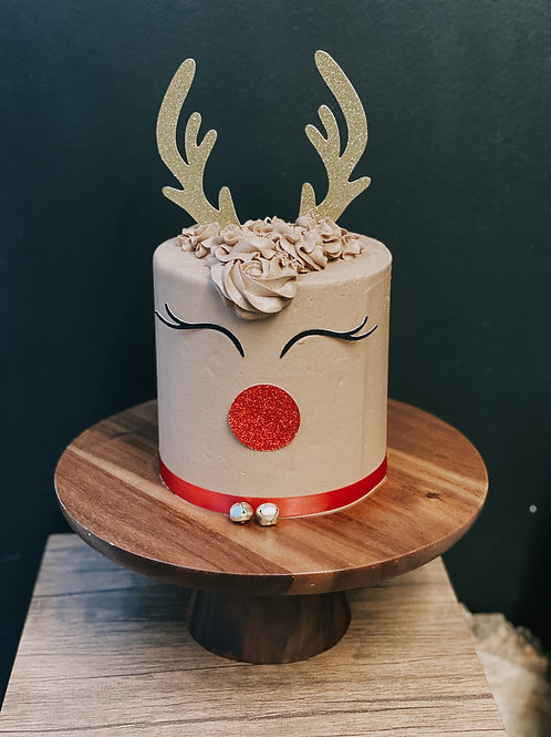 Reindeer Cake (Vegan)