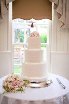 Large 3 Tier Fondant Cake
