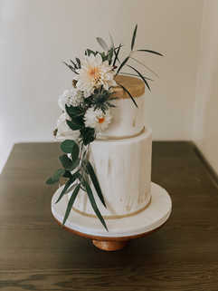 Large 2 Tier Fondant Cake