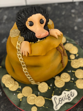 Niffler Birthday Cake