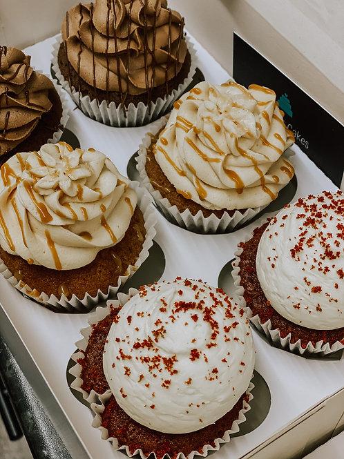6 Classic Cupcakes