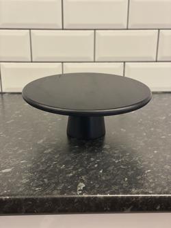 Black Wooden Pedestal