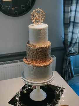 Large 3 Tier Buttercream Cake