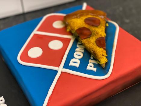 Dominoes Birthday Cake