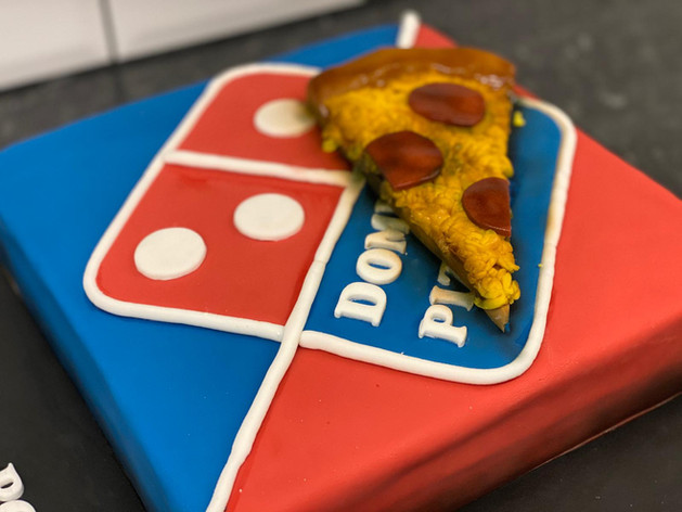 Dominoes Birthday Cake