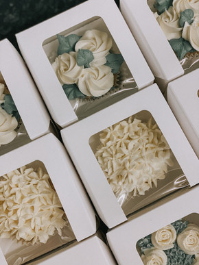 Individually Boxed Cupcakes