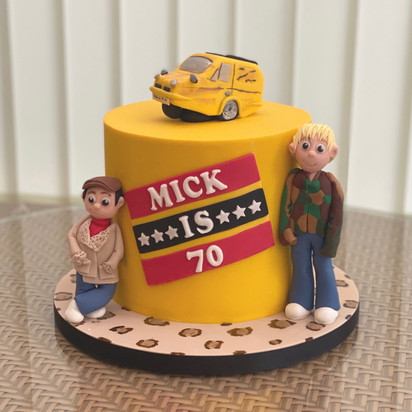 Only Fools & Horses Birthday Cake