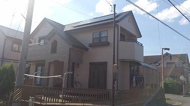津市の塗装会社日塗建が施工した住宅の3年後点検
