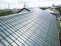 日塗建の屋根塗装