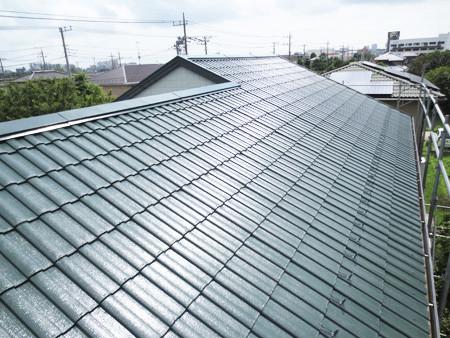 屋根塗装の特徴