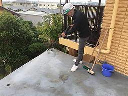 津市の塗装会社日塗建の防水工事・高圧洗浄