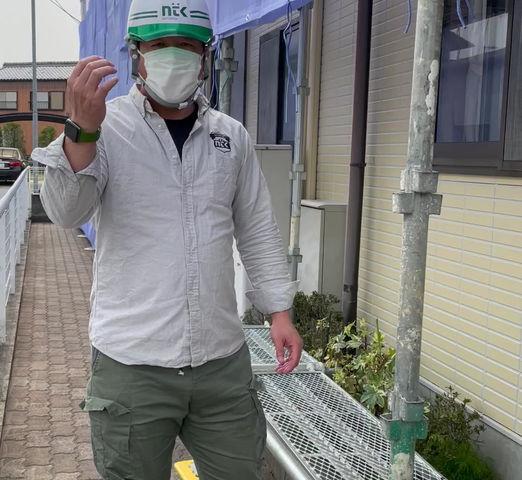 津市クリニック  外壁塗装  検査