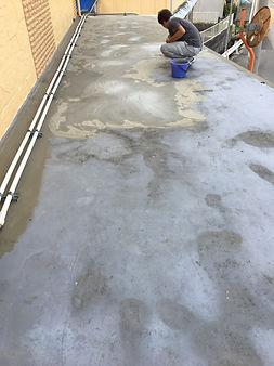 津市の塗装会社日塗建の防水工事・下地処理工事
