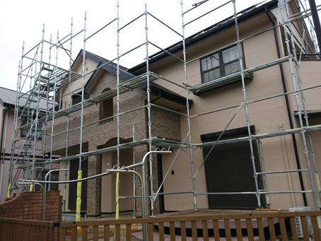 塗装工事における仮設足場の必要性