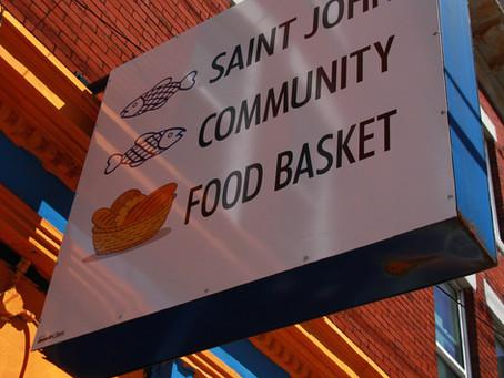 Head of Saint John's largest food bank praises community's generosity during pandemic