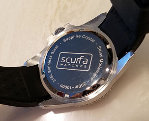 Scurfa Diver One caseback