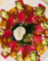 feta tuna sashimi.JPG