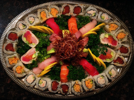 Mother's Day Sushi Party Platters Available