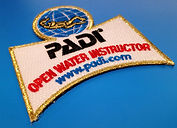 PADI Open Water Instructor patch