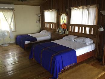CoCo View Resort queen cabana interior