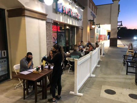 Outdoor Diners: Thank You!