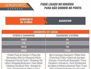Horários de ônibus do Aeroporto de Vitória para Guarapari