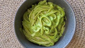 The Sunday Cookbook: Pasta with an Avocado Pesto Sauce