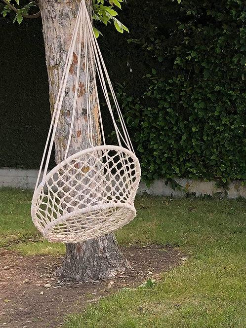 balançoire en cordage