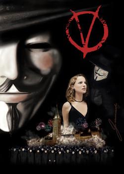 V for Vendetta Poster Concept