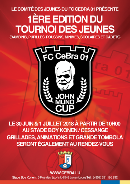 JOHN MUNO CUP 1ERE EDITION