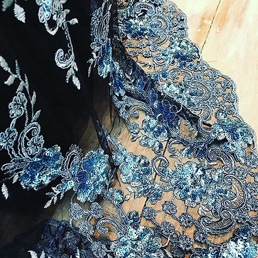 Beautiful fabric for a stunning dress. A