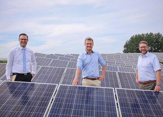 Gespräch über erneuerbare Energien mit den Kreiswerken Main-Kinzig