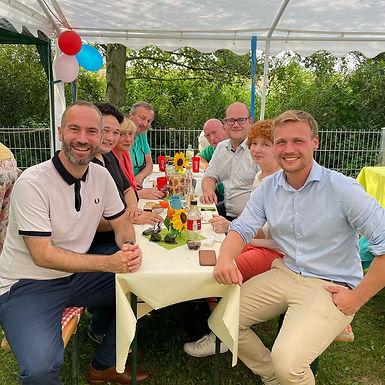Eröffnung des Vereinsheims des Hundesportvereins Erbstadt