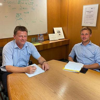 Besuch der Envirotec GmbH mit der SPD Hasselroth