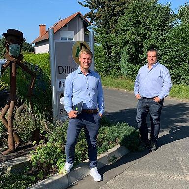 Besuch der Firma Dillmann in Nidderau