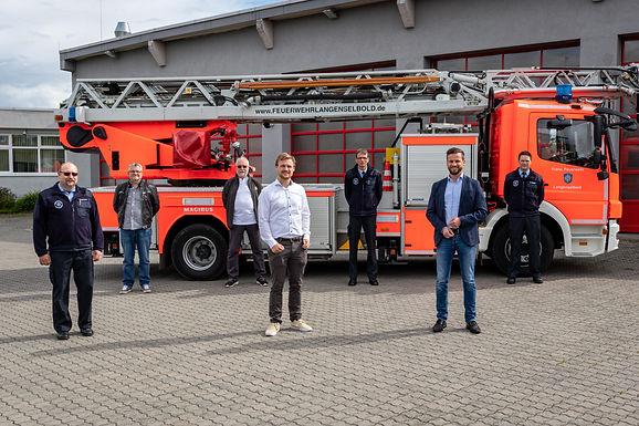 Besuch der Feuerwehr Langenselbold