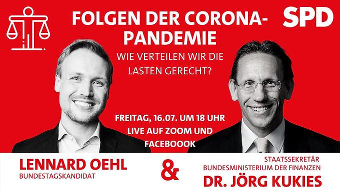 Live im Gespräch mit Jörg Kukies