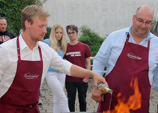 Rotes Grillen in Rodenbach