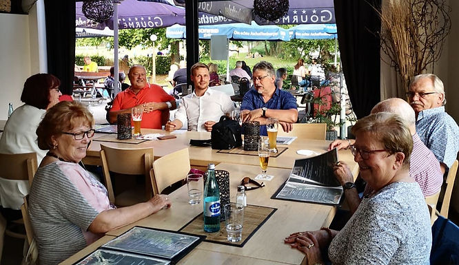 Gesprächsrunde im Haus am See in Großkrotzenburg