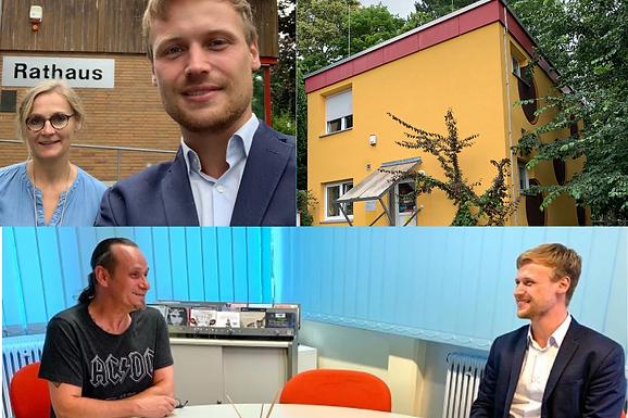 Besuch des kommunalen Jugendtreffs in Niederdorfelden