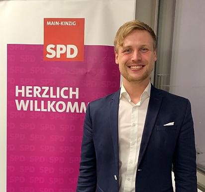 SPD Main-Kinzig schickt Lennard Oehl ins Rennen um den Bundestag.