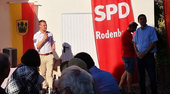 Sommerfest der SPD Rodenbach
