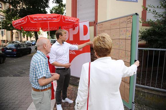 Straßengespräche in Hanau Nordwest