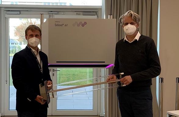 UV-C-Licht der Heraeus Group zur Luftdesinfektion