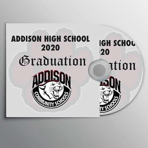Addison High School Graduation DVD
