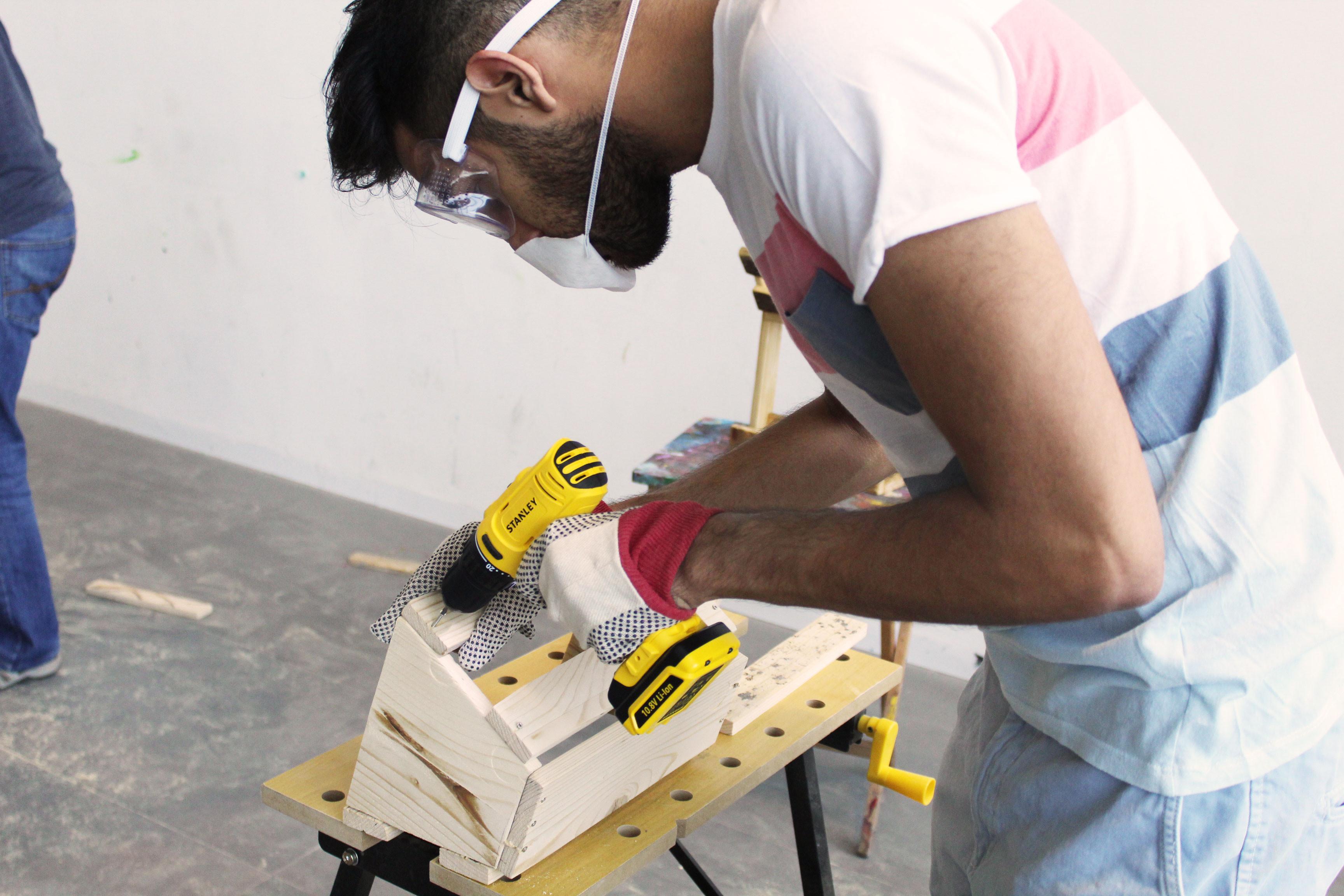 DIY Upcycled Furniture Making Workshop