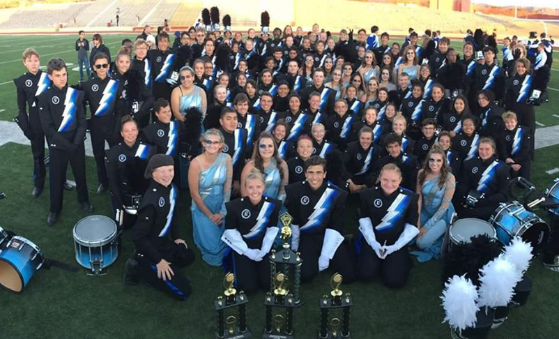1st Place Pageant of the Bands