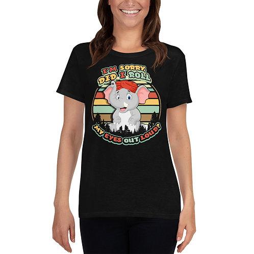 Eye Roll Women's short sleeve t-shirt
