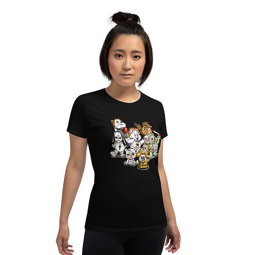 Bear Horror Women's short sleeve t-shirt